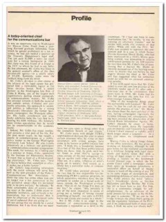 profile 1973 marcus cohn marks federal communications vintage article