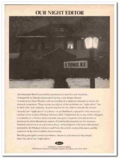 american cyanamid company 1973 lederle laboratories media vintage ad