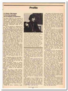 profile 1973 linda lou bolen vp daytime program nbc-tv vintage article