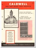 Caldwell Mfg Company 1958 Vintage Catalog Window Sash Balances Spirex