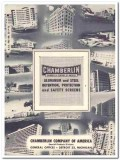 Chamberlin Company 1958 Vintage Catalog Detention Safety Screens Steel