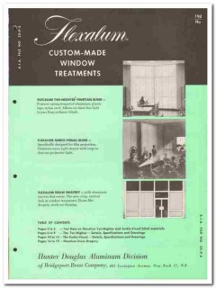 Bridgeport Brass Company 1958 Vintage Catalog Window Treatments Custom