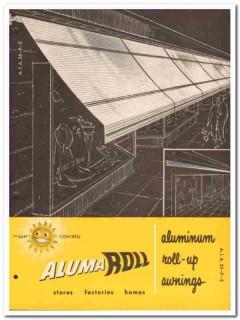 Alumaroll Awning Company 1958 Vintage Catalog Sun Control Roll-Up