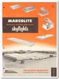 Marco Company 1958 Vintage Catalog Roof Skylight Aluminum Fiber Glass