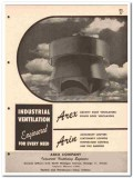 Arex Company 1958 Vintage Catalog Ventilation Louvers Industrial Roof