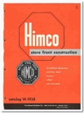 Himmel Brothers Company 1958 Vintage Catalog Store Front Himco