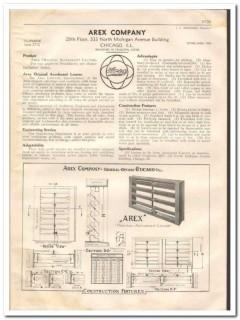 Arex Company 1933 Vintage Catalog Ventilating Roof Accelerant Louver