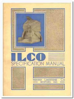 Indiana Limestone Company 1931 Vintage Catalog Specification Manual