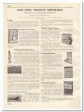 Bliss Steel Products Corp 1931 Vintage Catalog Window Manifold Pivoted