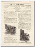 C F Pease Company 1931 Vintage Catalog Blue Printing Machines Washer