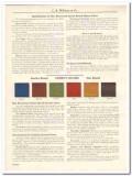 C K Williams Company 1931 Vintage Catalog Mortar Colors Anchor Brand