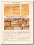 Hoosier Sandstone Company 1931 Vintage Catalog Stone Sienna Rubble