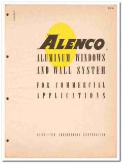 Albritton Engineering Corp 1962 Vintage Catalog Window Aluminum ALENCO