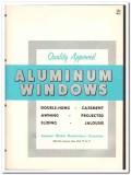 American Window Mfrs Association 1962 Vintage Catalog Casement Sliding