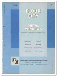 Hupp Corp 1962 Vintage Catalog Window Aluminum Bronze Steel Flour City