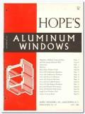 Hopes Windows Inc 1962 Vintage Catalog Aluminum Projected Combination