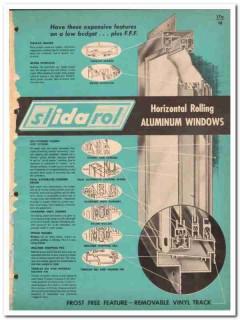Ida Products Company 1962 Vintage Catalog Window Aluminum Slidarol