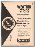 Chamberlin Company 1962 Vintage Catalog Weather Strips Windows Doors
