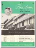 Bridgeport Brass Company 1962 Vintage Catalog Window Sun Control Shade