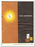Construction Specialties Inc 1962 Vintage Catalog Sun Control Aluminum