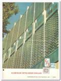 Construction Specialties Inc 1962 Vintage Catalog Grilles Aluminum