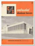 Construction Specialties Inc 1958 Vintage Catalog Louvers Aluminum
