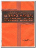 Barrett Company 1933 Vintage Catalog Roofing Built-Up Reference Manual