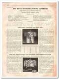Burt Mfg Company 1933 Vintage Catalog Fan Ventilators Roof Damper