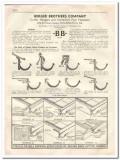 Berger Brothers Company 1933 Vintage Catalog Gutter Hanger Pipe Fasten