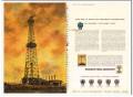 Hughes Tool Company 1959 Vintage Ad Oil Field Drill Tri-Cone Bits Rock