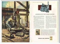 Hughes Tool Company 1959 Vintage Ad Oilfield Bits Joann Cowans History