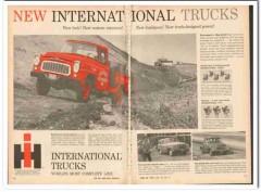 international harvester 1959 custom interiors truck power vintage ad