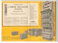 collins radio company 1959 te-301 carrier telegraph system vintage ad