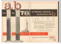 Magnet Cove Barium Corp 1959 Vintage Ad Oil Well T-8 Magcobar Mud Cost