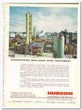 Hudson Engineering Corp 1959 Vintage Ad Hydrofining Acid Tuf-Lite Fans