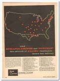 allied chemical dye corp 1959 need ethanolamines glycols vintage ad