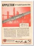 appleton electric company 1959 xj conduit expansion joints vintage ad