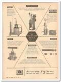 Autoclave Engineers Inc 1959 Vintage Ad Oil Pumps Valves Compressors