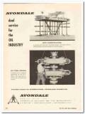 Avondale Marine Ways Inc 1959 Vintage Ad Oil Dual Service Industry