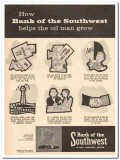 bank of the southwest 1959 houston tx helps oil man grow vintage ad