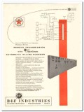 B-I-F Industries Inc 1959 Vintage Ad Remote Transmission Oil Refinery