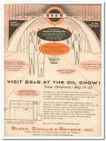 Black Sivalls Bryson Inc 1959 Vintage Ad Tulsa Oil Show Mass Flowmeter