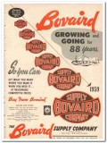 Bovaird Supply Company 1959 Vintage Ad Oil Well Growing Going 88 Years
