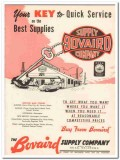 Bovaird Supply Company 1959 Vintage Ad Oil Key Quick Service Supplies