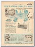 Bowser Inc 1959 Vintage Ad Oil Potter Pottermeter Turbine Type Meters