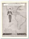 braniff international airways 1959 petroleum exposition oil vintage ad