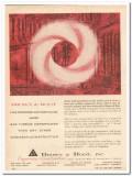 Brown Root Inc 1959 Vintage Ad Oil Design Install Gas Turbine Compress