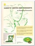 Cabot Shops Inc 1959 Vintage Ad Oil Pumping Economics Franks