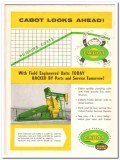 Cabot Shops Inc 1959 Vintage Ad Oil Franks Pumping Costs Field Unit