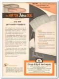 Chicago Bridge Iron Company 1959 Vintage Ad Oil Horton Fabric Seal